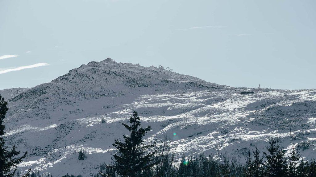 Veiws atop Vitosha, Sofia's mountain neighbour