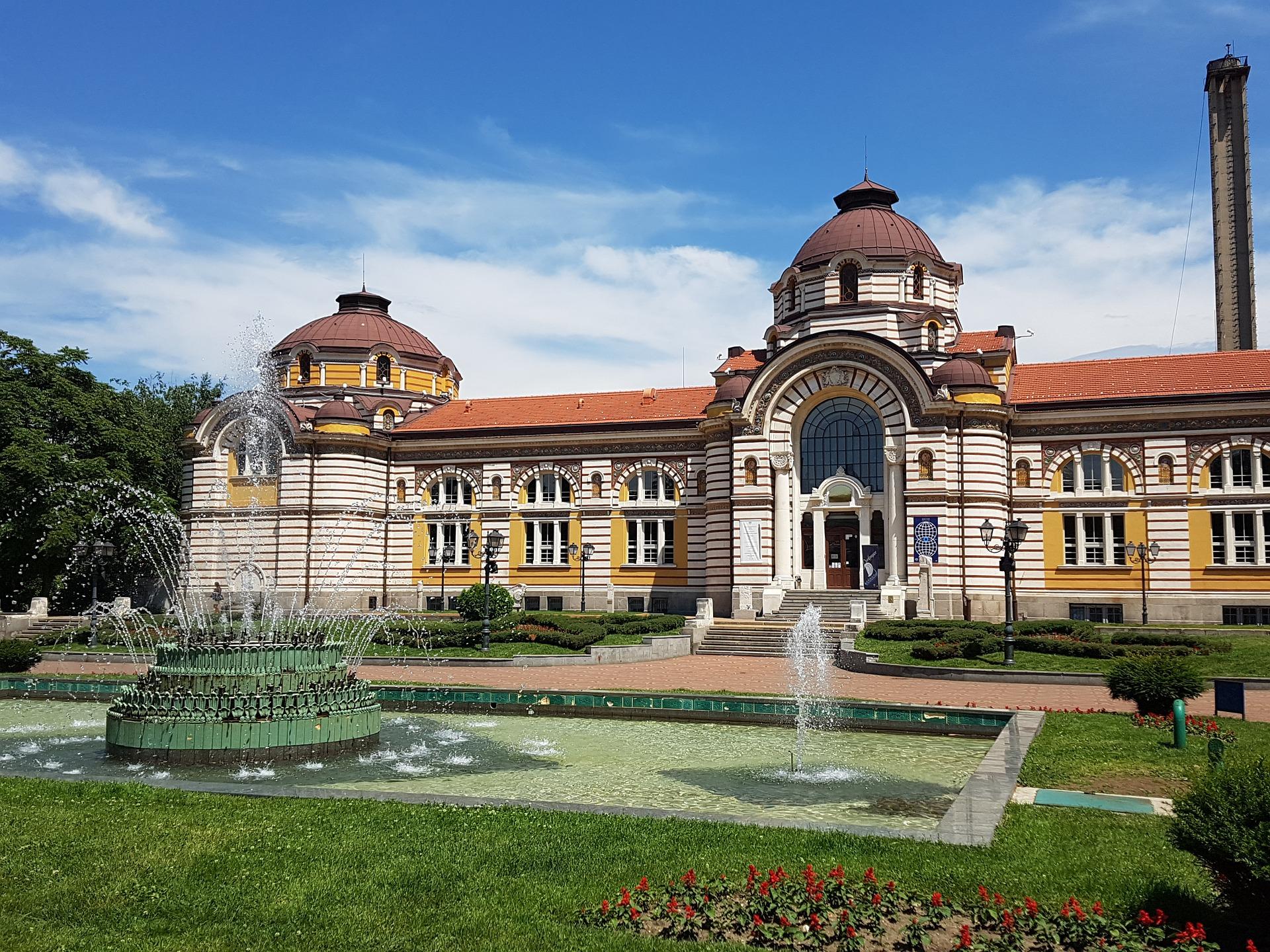 Mineral baths, Sofia