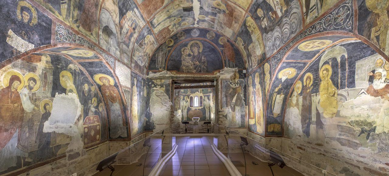 Boyana Church virtual tour interior