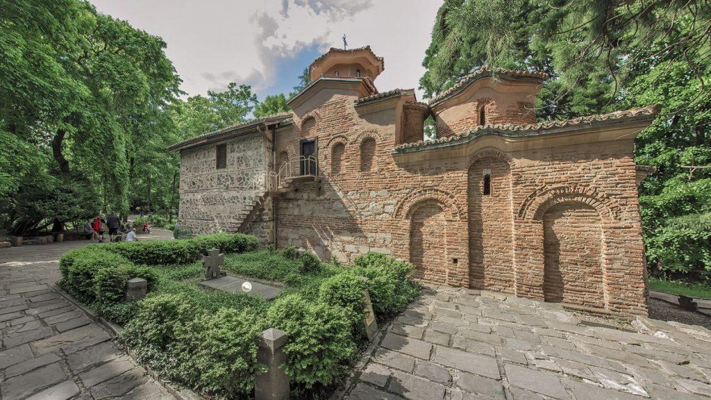 Boyana Church virtual tour exterior