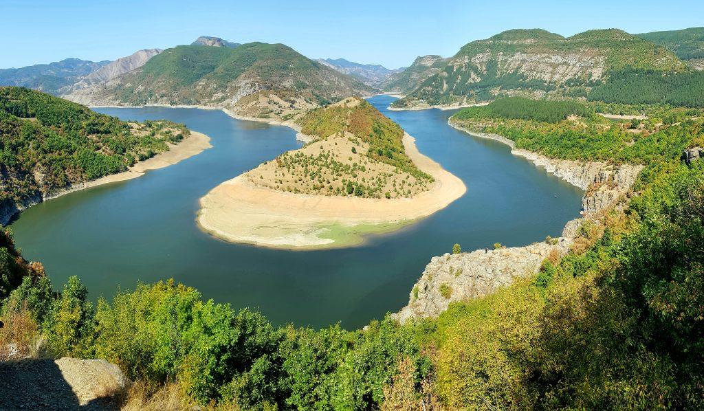 Kardzhali Stausee in Bulgarien