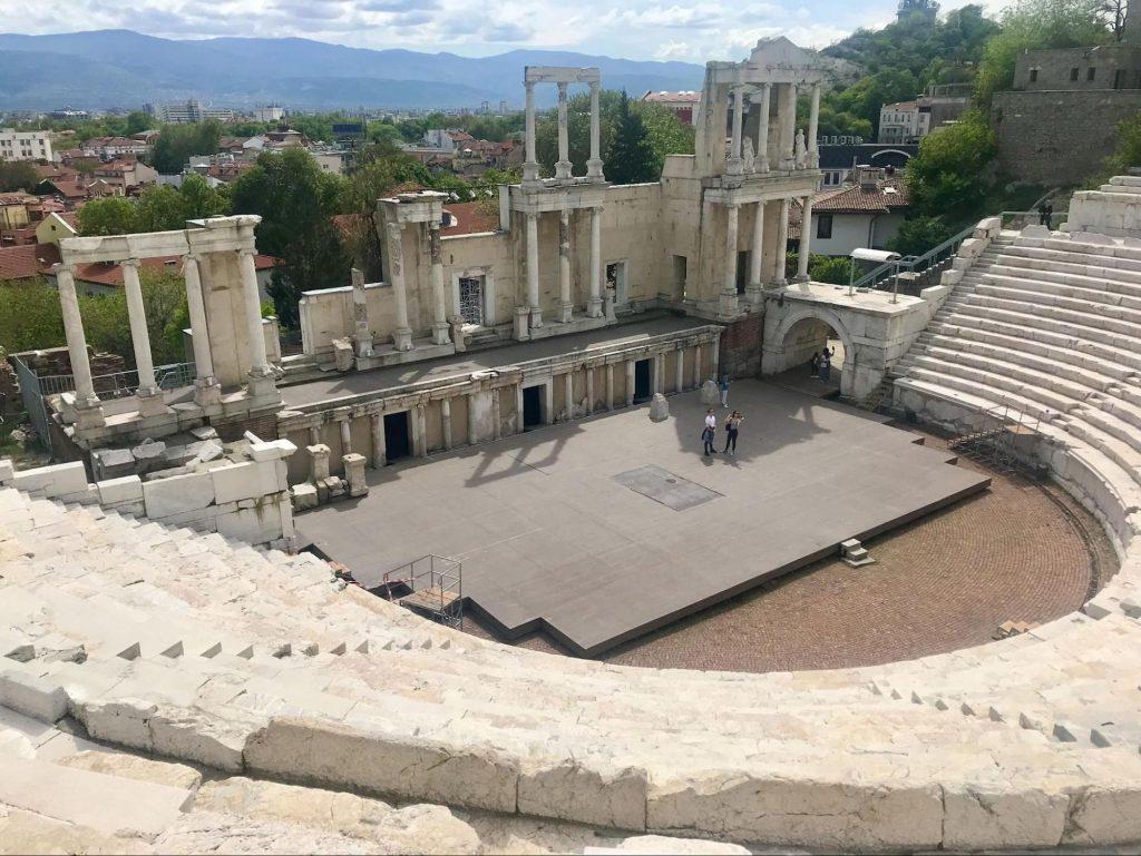 Römisches Theater, Plovdiv